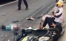 Va chạm xe đầu kéo, thai phụ và con gái chết