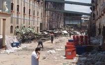 Đám cháy lại bùng lên tại công ty Kwong Lung Meko