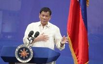 Ông Duterte lại đòi chiếm đảo ở Biển Đông