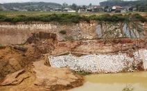 Nghệ An chỉ đạo khắc phục kênh 750 tỉ đồng nứt toác