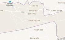 Rút dự án thu hồi đất tái định cư ở xã Đồng Tâm
