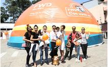 Gia đình sao Việt vui cùng ngày hội FWD con vươn xa