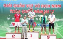 Điểm tin chiều và tối 23-4: Minh Tuấn đăng quang giải quần vợt quốc gia