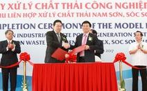 Vận hành nhà máy đốt rác phát điện đầu tiên tại Việt Nam