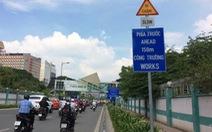 TP.HCM lắp biển chỉ dẫn giao thông bằng song ngữ Việt - Anh