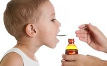 Không dùng giảm đau tramadol và giảm ho codeine cho trẻ nhỏ
