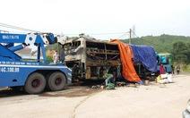 Cháy xe giường nằm, 12 khách thoát nạn