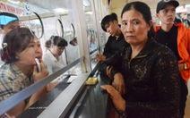 Bến xe Miền Đông 'cháy vé' dịp lễ 30-4