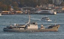 Va chạm tàu hàng ở biển Đen, tàu chiến Nga bị chìm