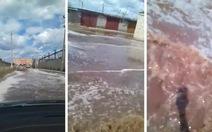 Clip nước Pepsi chảy 'thành sông' trên đường phố Nga
