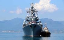 Tàu tuần dương tên lửa Nga ghé cảng quốc tế Cam Ranh