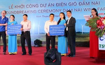 Ninh Thuận khởi công nhà máy điện gió Đầm Nại 1.523 tỉ đồng
