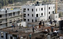 Israel dự kiến xây 15.000 nhà mới ở đông Jersusalem