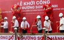 Lãnh đạo TP.HCM dự khởi công xây dựng đường song hành