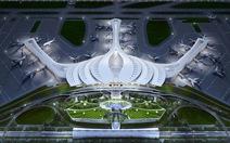 Chọn thiết kế hoa sen cách điệu cho sân bay Long Thành