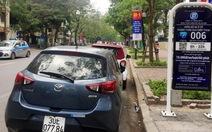 Ngày đầu thí điểm 17 điểm đỗ xe thông minh tại Hà Nội