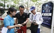 Hà Nội thí điểm tìm kiếm bãi đỗ xe qua điện thoại