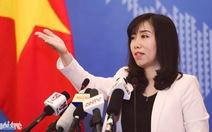 VN phản đối lệnh cấm đánh bắt cá của Trung Quốc ở Biển Đông