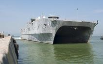 Tàu viễn chinh cao tốc Mỹ USNS Fall River đến Đà Nẵng