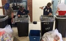 Dạy học sinh VN phân loại rác từ lớp học: khẩn trương thôi!