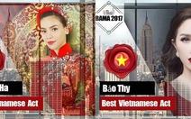 5 nghệ sĩ Việt được đề cử tại giải thưởng BAMA