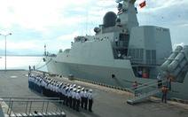 Tàu Đinh Tiên Hoàng tham gia duyệt binh tàu quốc tếtại Singapore