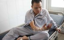 Phẫu thuật nối thành công ngón tay bị máy xay thịt cắt lìa