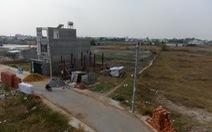 Tách thửa đất ở 2.000m2 trở lên phải lập dự án