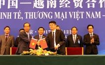 Vinamilk ký kết để xuất khẩu sữa vào Trung Quốc