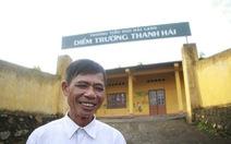 Thầy Ba 'khùng' hiến đất làm trường