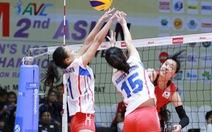 Bóng chuyền nữ VN thua Nhật ở giải U-23 châu Á