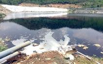 Muốn dời bãi rác Hòn Rọ, dân ngăn xây hồ xử lý nước thải