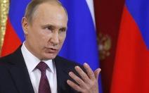 Ông Putin khẳng định không nhận tin mật gì từ ông Trump