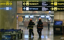 Hỏa hoạn tại sân bay Changi, 40 chuyến bay bị ảnh hưởng