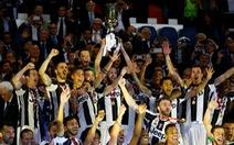 Đá bại Lazio, Juventus đoạt Cúp quốc gia Ý
