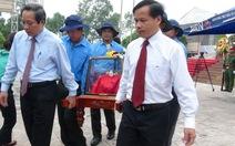 An táng 26 hài cốt liệt sĩ Việt Nam hi sinh ở Lào