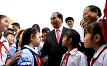 Chủ tịch nước dâng hương Chủ tịch Hồ Chí Minh tại Bến Nhà Rồng