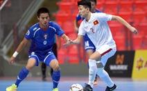 Thắng Đài Loan, U-20 futsal VN nuôi hi vọng vào tứ kết châu Á