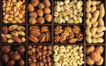 Các loại hạt giúp kiểm soát tình trạng ung thư ruột kết