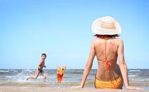 Tự tin dưới ánh nắng biển mùa hè