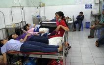 38 công nhân Bến Tre nhập viện sau bữa trưa