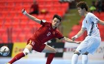 U-20 futsal VN chia tay VCK U-20 châu Á 2017