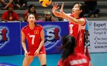 VN vào bán kết Giải bóng chuyền nữ U-23 châu Á