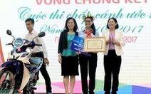 Vương Phối Ân đoạt giải nhấtChắp cánh ước mơ 2017