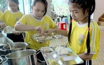 Phần mềm 'Xây dựng thực đơn cân bằng dinh dưỡng' vào trường học