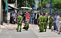 Hai thanh niên đâm nhau gục trước cây xăng đường Bến Vân Đồn