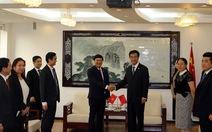 Hai thủ lĩnh thanh niên Việt - Trung hội đàm về công tác Đoàn