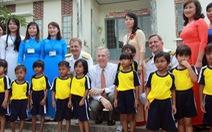 Đại sứ Hoa Kỳ Ted Osius thăm trường mầm non tại Khánh Hòa