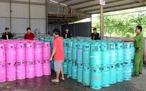 Phát hiện công ty tái chế trái phép 6.000 vỏ bình gas