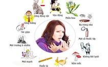 Những yếu tố ảnh hưởng đến bệnh hen suyễn